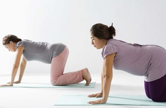 During pregnancy, an all-fours position offers a comfortable core-strengthening alternative.