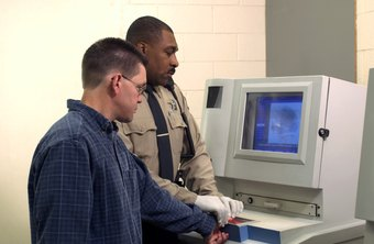Deputy sheriffs often perform the same duties as police officers, such as fingerprinting prisoners.