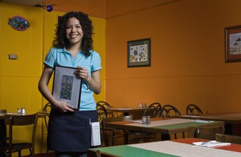 Even experienced waitresses must learn the specific tasks required by different employers.