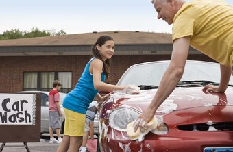Car washes are services that many nonprofits sell to fund operations.