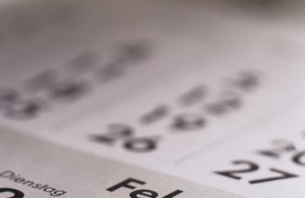 Businesses that use a fiscal year will have a tax filing deadline other than April 15.