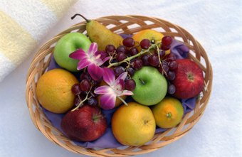 Fruit baskets are a popular holiday gift.