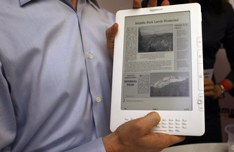 Kindle users can even view newspapers on the e-reader.