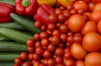 Vegetables and fruits are great for lowering LDL cholesterol.
