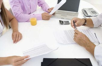 Review a balance sheet to determine a company's debt.