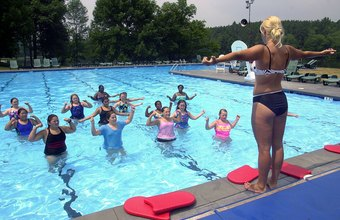 Water aerobics instructors can earn more in states such as California and New York.