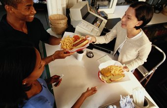Fast-food jobs are among the most commn images of part-time labor.