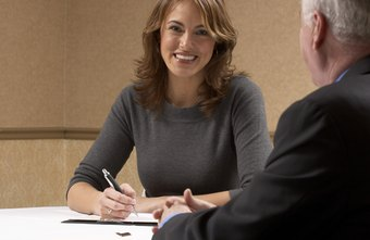 Legal recruitment agencies interview candidates to fulfill job positions for clients.