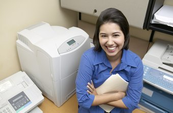 Shared printers are often located in common areas.