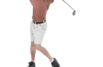 Elastic tube exercises can help to improve your balance during a swing.