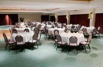 A banquet manager oversees and prepares for events.