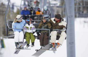 Offering packages for families, elite skiiers and amateurs is a good way to attract customers.