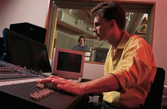 Music producers can earn six-figure salaries.