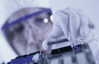A number of semiconductor manufacturing processes must be conducted in clean rooms.