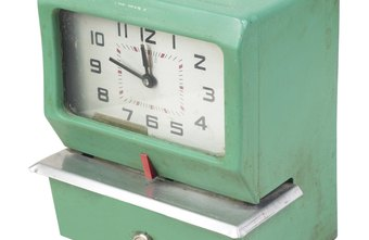 The traditional mechanical punch-type time clock has been largely replaced with software-based clocks.