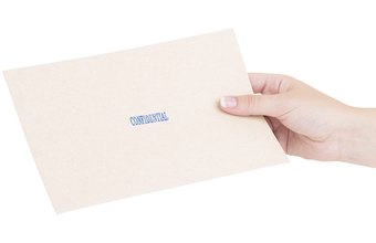 A letter can be the receiver's first contact with your business.