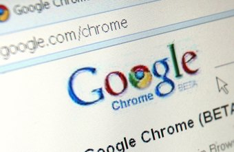 Adding a Chrome shortcut launches the browser from the desktop.