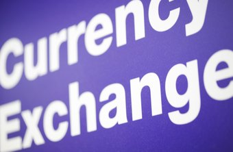 Foreign currency exchange is a large global financial market.