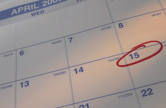 Calendars help you keep track of competing obligations.