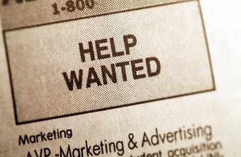 Reach a wide audience by using both print and online avenues to advertise job openings.