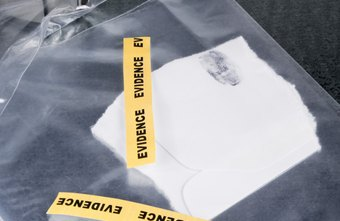 Neatly organizing and filing evidence is a common CSI responsibility.