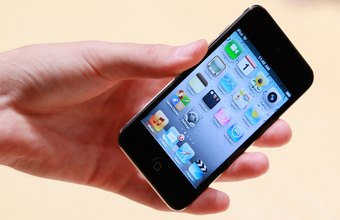 Turn off the screen reader so your iPod Touch operates efficiently.