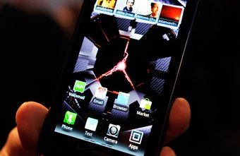 Change phone accounts by switching the SIM card in the Droid RAZR.