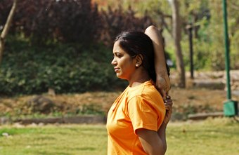 Gomukasana arms is an excellent stretch for the triceps muscles.