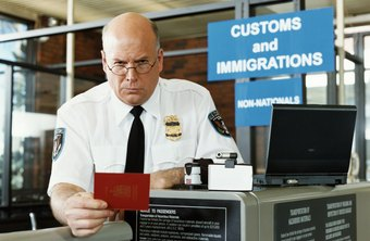 Immigration officers have to look out for potentially fraudulent paperwork.
