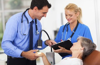 Medical assistants may act as the physician's scribe in some practices.