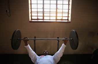 Olympic barbells are used in competition, but they're not the only type used by powerlifters.