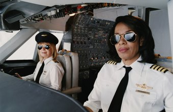 Pilots need good eyesight to safely fly a plane.