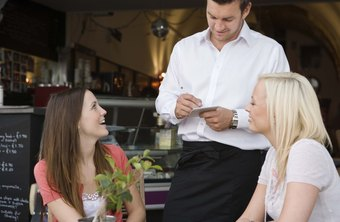 Restaurant managers look for applicants with food and wine knowledge.