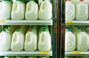 One percent milk has fewer calories than 2 percent milk.