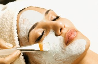 A spa esthetician provides a client with a relaxing experience.