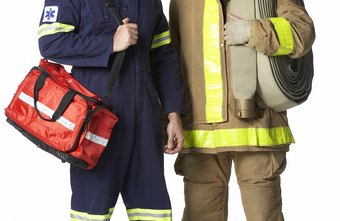EMTs often work for fire departments.