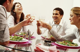 Convivial restaurant scenes could result in accidents and liabilities for owners.
