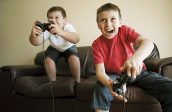 Video game companies target the youth market.