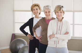 Some fitness certificates indicate expertise in working with the elderly.
