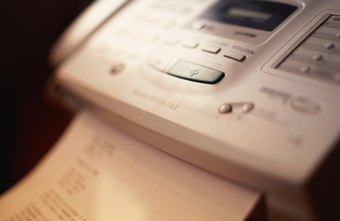 Busy signals complicate the process of getting a fax transmission through.