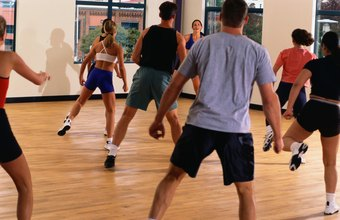 Zumba is a combination of resistance training and aerobics as a fun group activity.