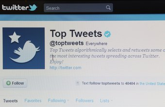 Popular sites such as Top Tweets have Twitter followers who also have many followers.