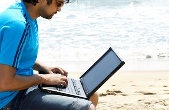 Wireless broadband lets you blog from the beach.