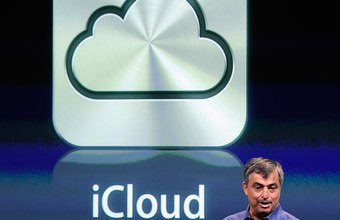 ICloud is built into Apple products and applications.