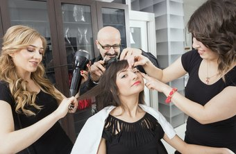 Makeup stylists help make salon customers feel beautiful.