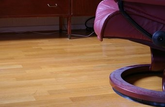 This laminate flooring can be used in almost any room.