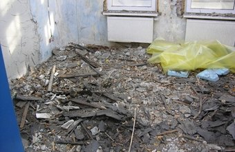 Any Asbestos containing material (ACM) must be removed prior to demolition or renovation of a building