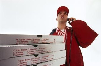 The pizza delivery boy can make substantial money in tips as part of his pay.