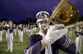 High school band directors form bands that perform at various school events.