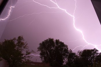 If lightning hits your house, be glad you have hazard insurance.